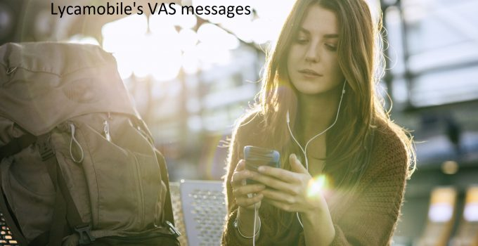 Lycamobile Value Added Services Messages
