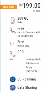 All in One 199 Plan Lycamobile Denmark